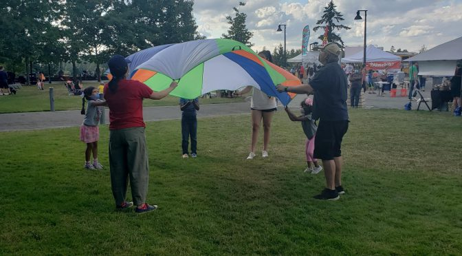 Kids' Activities at Farmer's Market