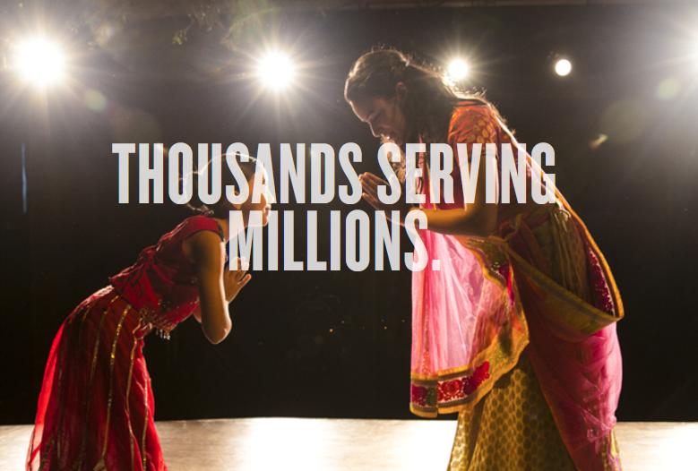 Thousands Serving Millions